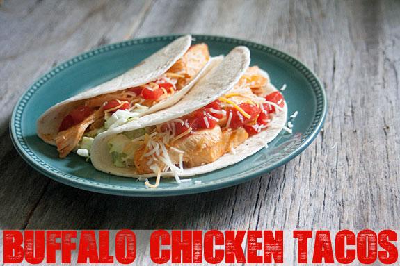 Easy Dinner Recipe: Buffalo Chicken Tacos   The Shabby Creek Cottage