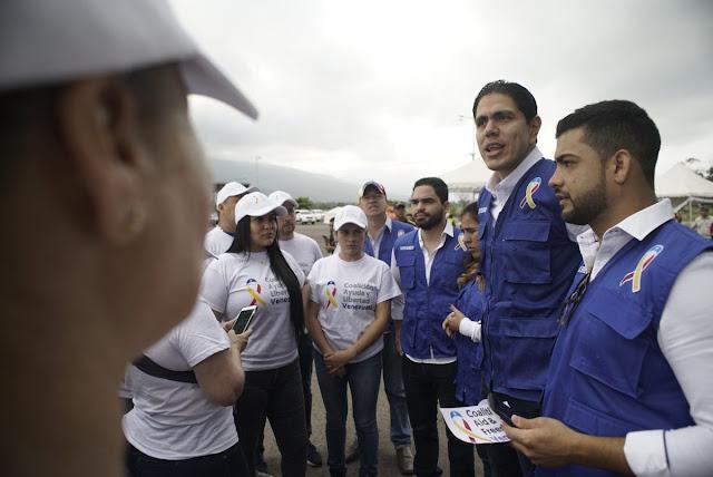 """Lester Toledo: """"Se va a abrir un corredor humanitario y las puertas a la libertad""""."""