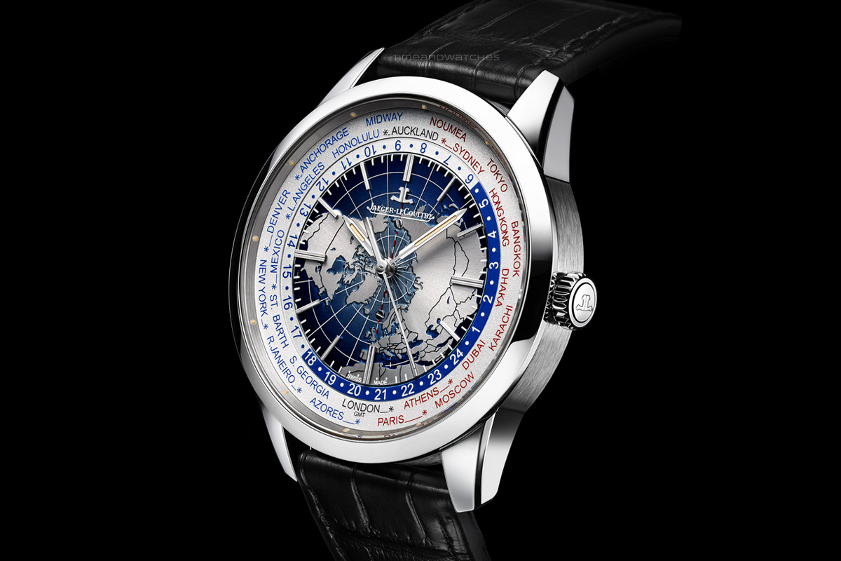 Jaeger lecoultre geophysic universal time time and watches for Geophysic watches