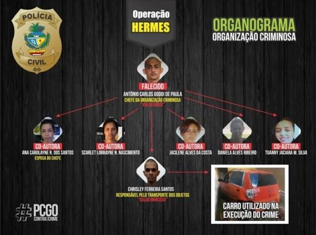 Goiânia: Polícia desmonta quadrilha que aplicava golpes pela internet