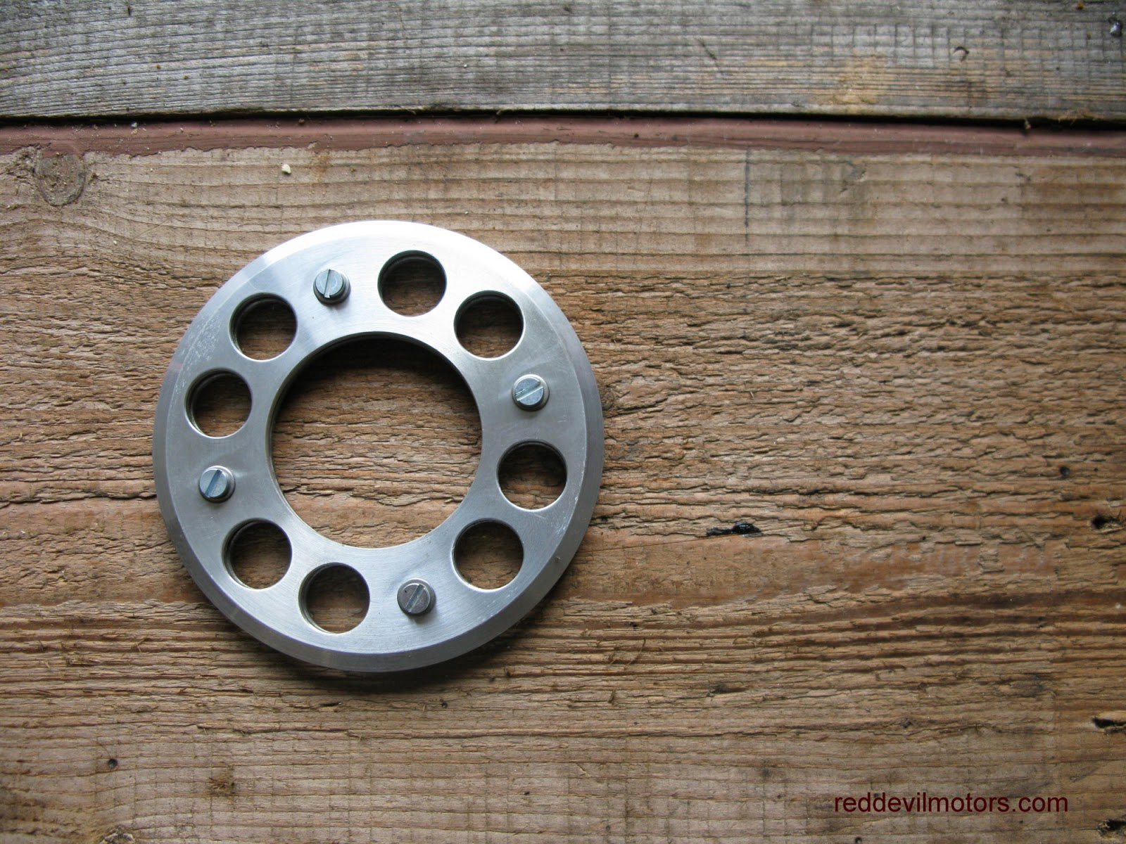 Bantam eight spring clutch conversion outer plate.