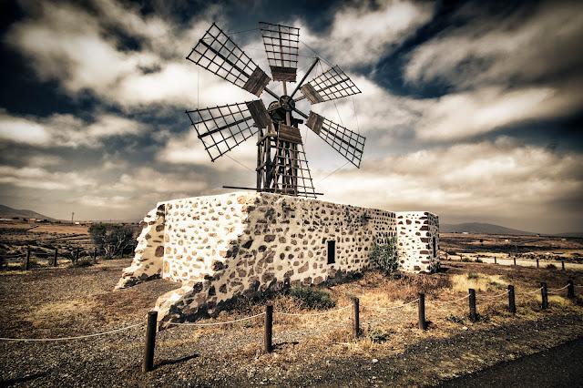 Mulino a vento a Tefìa-Fuerteventura