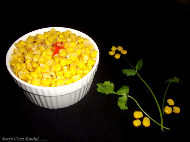 photo of Sweet Corn Sundal/Sweet Corn Sundal / Corn Sundal Recipe