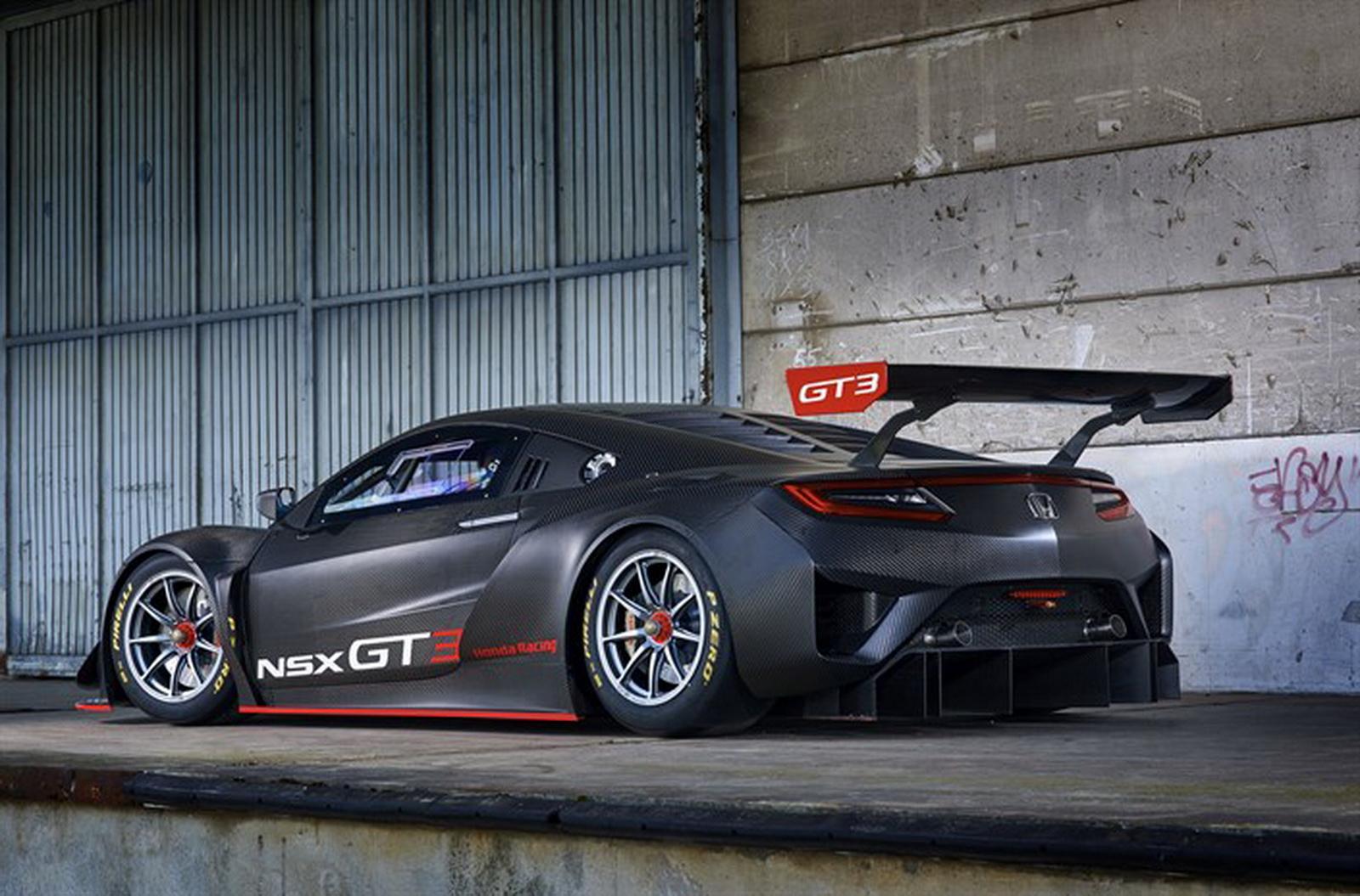 Honda Launches Global Nsx Gt3 Customer Racing Program