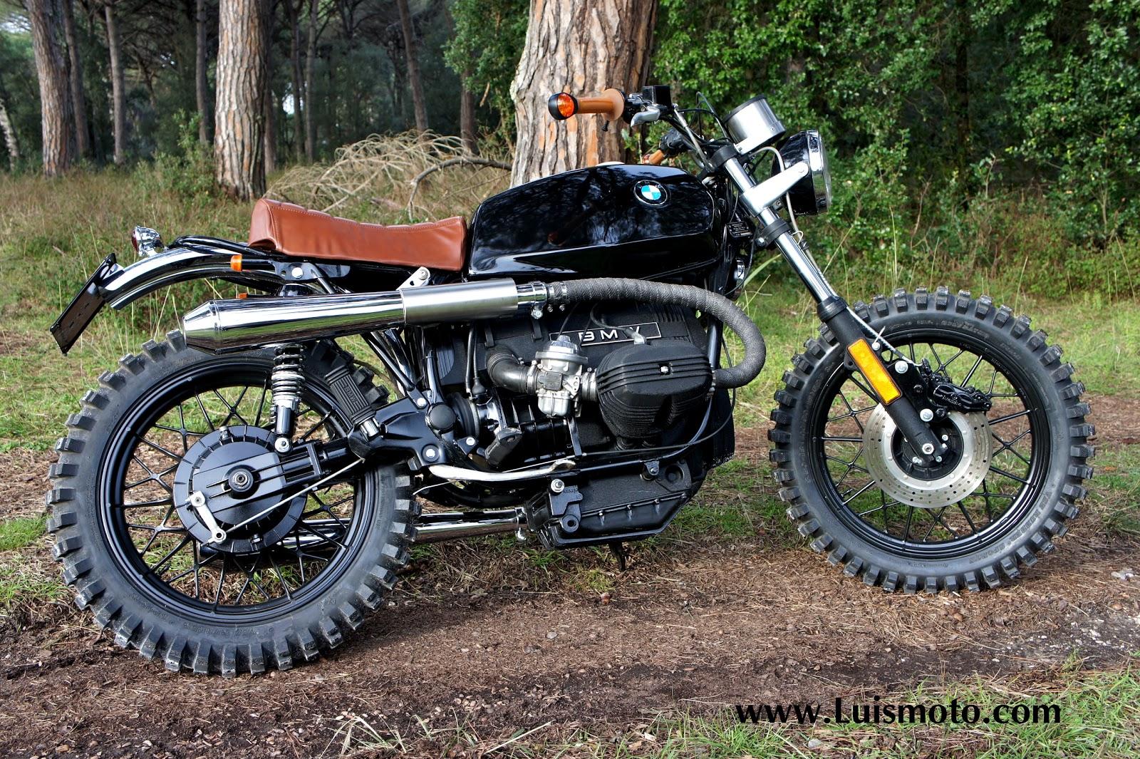 bmw rustica 45 by luis moto rocketgarage cafe racer. Black Bedroom Furniture Sets. Home Design Ideas