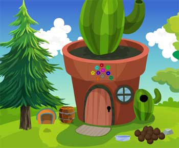 Juegos de Escape - Cute Girl Rescue From Garden House