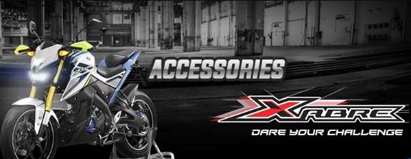 Aksesoris Motor Yamaha Xabre, Gambar Dan Harga