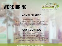 Lowongan Kerja Admin dan Cost Control Paviliun Sunda