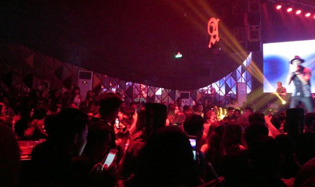 Anji Gebrak Clubbers Zona Cafe Makassar