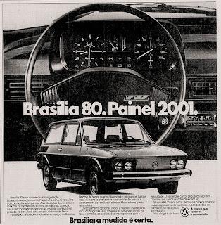 propaganda Volks Brasília - 1979. Reclame de carros anos 70.