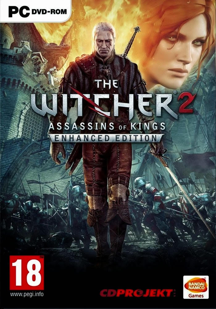 Cover Caratula The Witcher 2 Assassins Of Kings Enhanced Edition PC