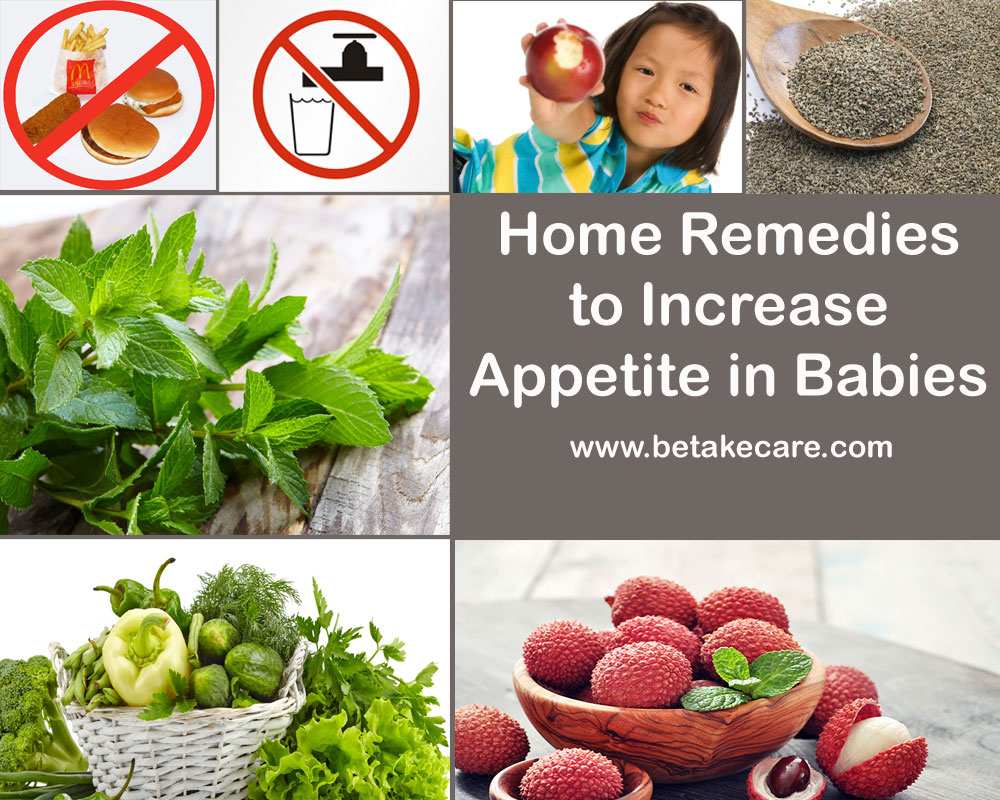 Home Remedies to Increase Appetite in Babies