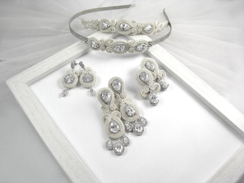 Biżuteria sutasz do ślubu, kolekcja PRESTIGE, linia SIMPLE