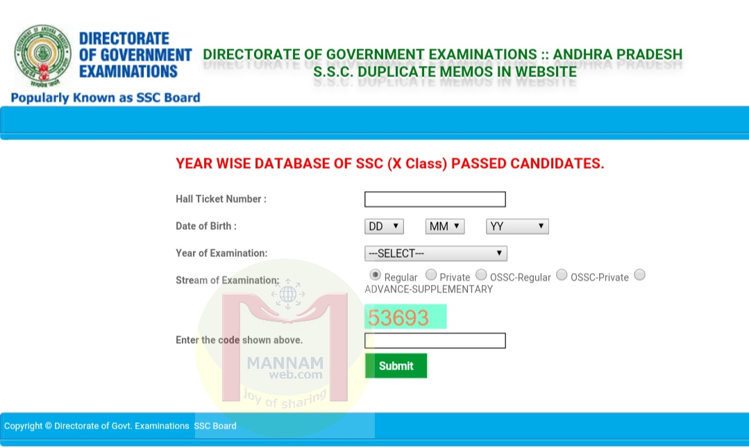 How To Download S S C 10th Class Duplicate Certificate
