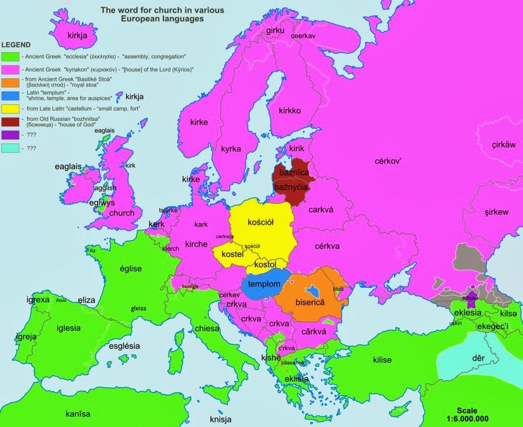 grecia mapa europa Mapas que muestran el origen de palabras que usamos. ~ Conjugando  grecia mapa europa