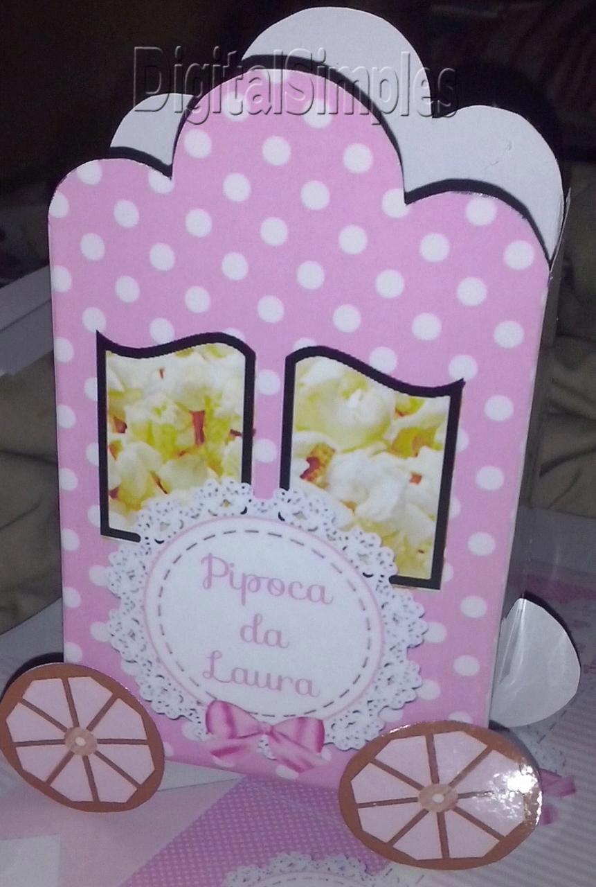 Kit De Personalizados Tema Bailarina Rosa Para Imprimir Convites