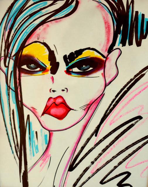 Bebee Pino - girl illustration