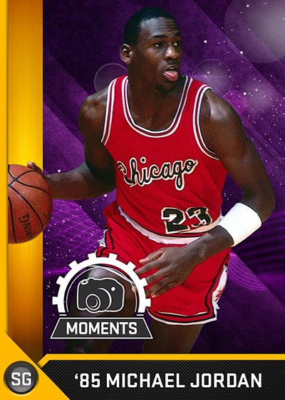 NBA 2K16 MyTeam Michael Jordan Special Moment Card