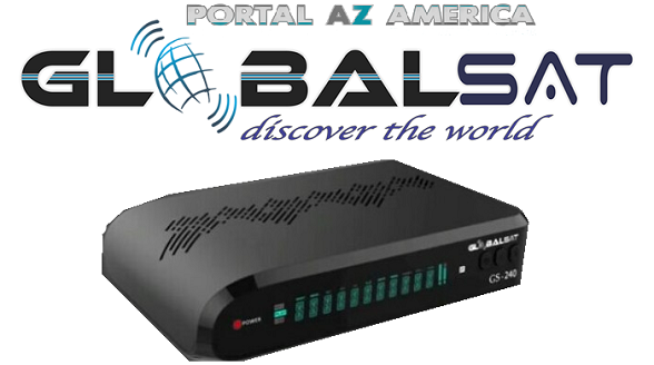 Resultado de imagem para GLOBALSAT GS 240 PORTAL AZAMERICA