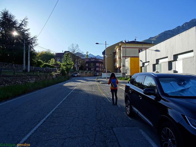 Iniciamos ruta en Felechosa