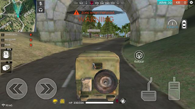 Jangan pakai kendaraan game free fire