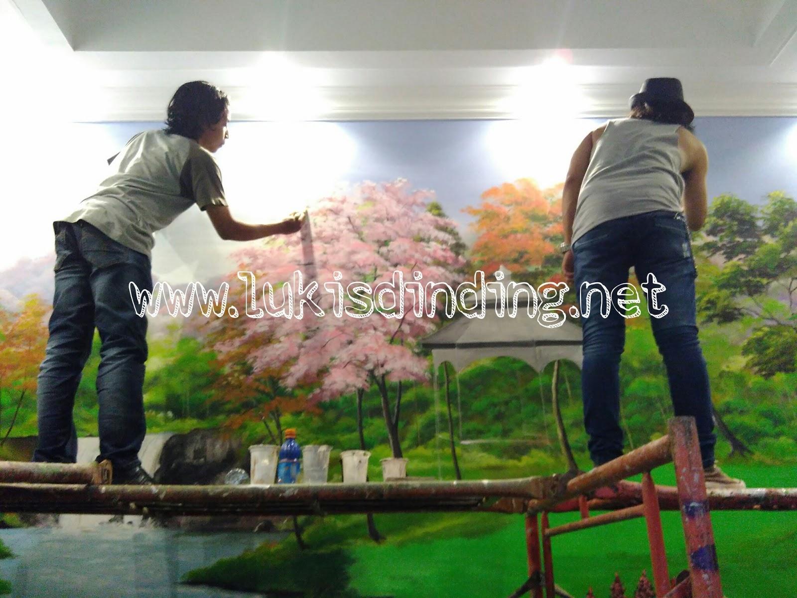 104 Wallpaper Dinding Ruang Tamu Pemandangan Wallpaper Dinding