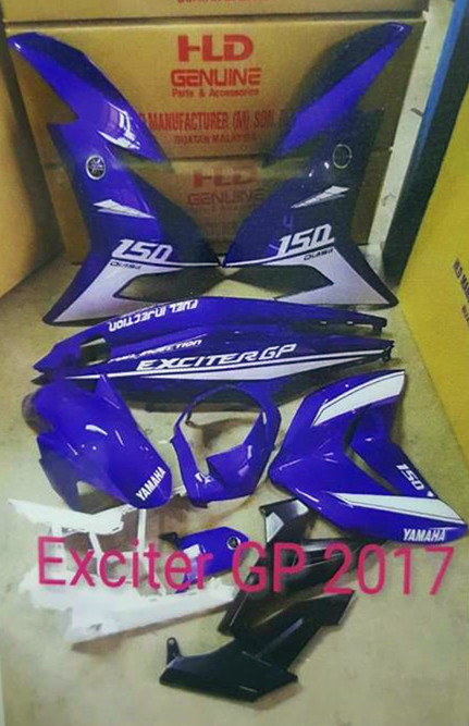 o2o BIKERS PARTS & ACCESSORIES: YAMAHA Y15ZR EXCITER GP 2017