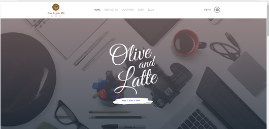 Olive and Latte Globeshop is here!
