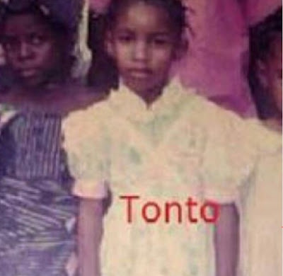 Tonto Dikeh Shares Her Photo, When She Was Still 3 Years Old