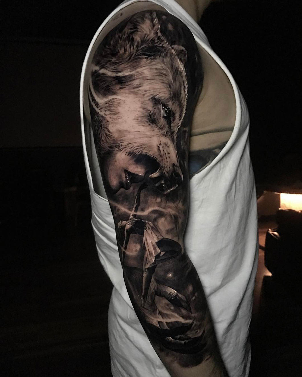 Wolf Sleeve | Best Forearm Tattoos - Cool Ideas And Designs