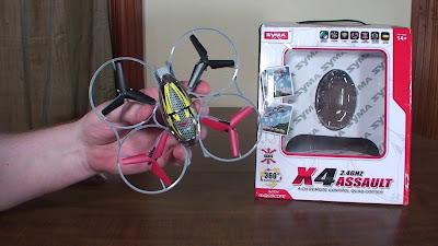 Spesifikasi Syma X4 Assault si Mini Drone - OmahDrone