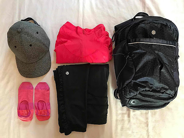 lululemon backpack run from work run all day review