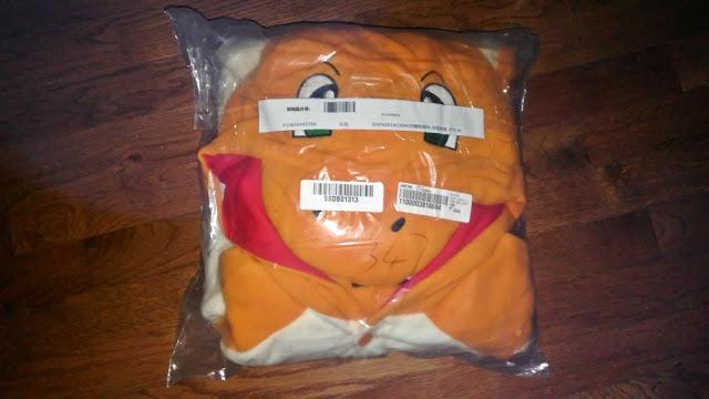 I bought a Charmander Onesie Milanoo Review  Pokemon halloween costume kigurumi kawaii