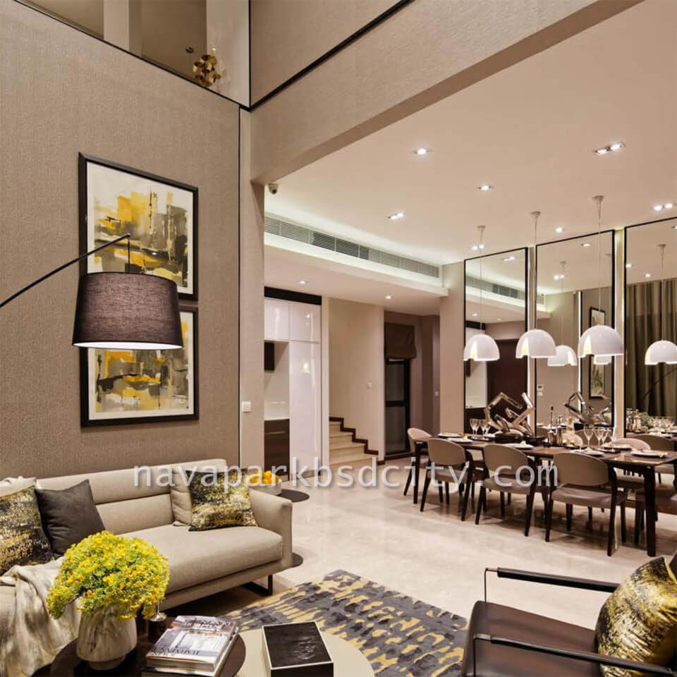 Contoh Interior Design LivingRoom Tipe 10 Lakewood NavaPark