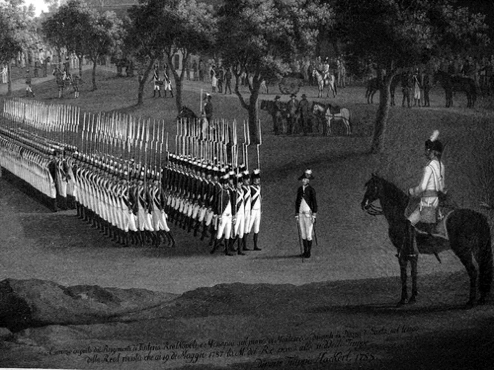 La biblioteca militare l 39 esercito partenopeo sul finire del 1700 - La tavola degli ufficiali ...