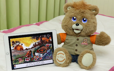 Wicked Cool Toys New Teddy Ruxpin Doll