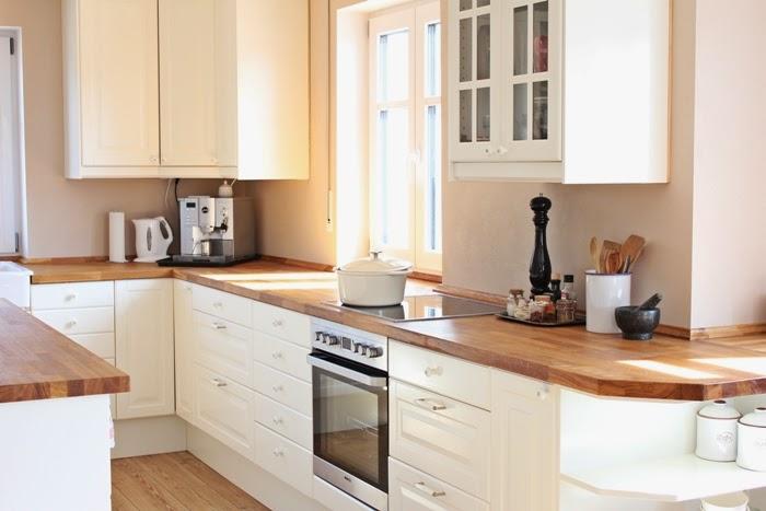 Wir bauen ein Haus: Kleiner Einblick in unser Wohnzimmer und Küche ...