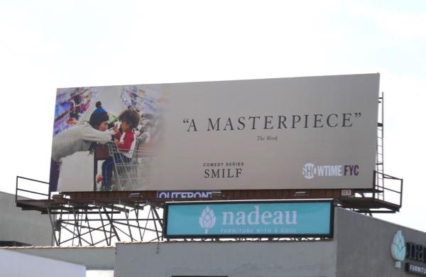 SMILF 2018 Masterpiece Emmy FYC billboard