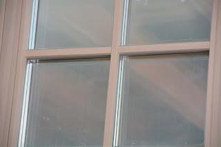 Сосновое окно