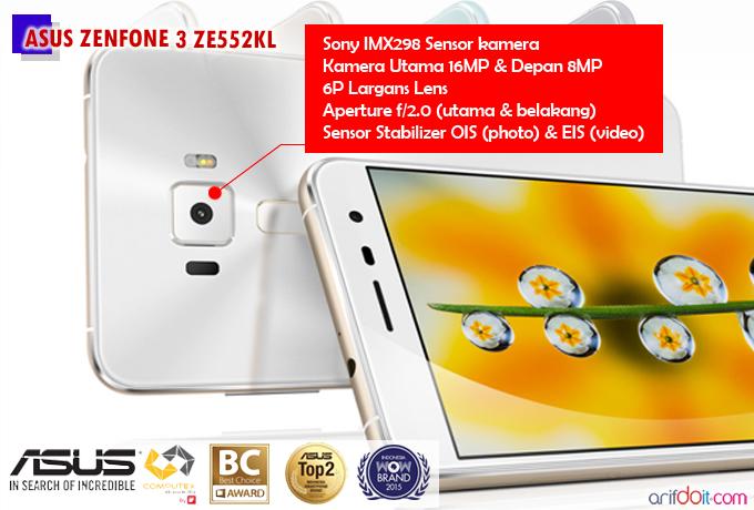 20 Alasan Asus Zenfone 3 ZE552KL Sebagai Smartphone Idaman
