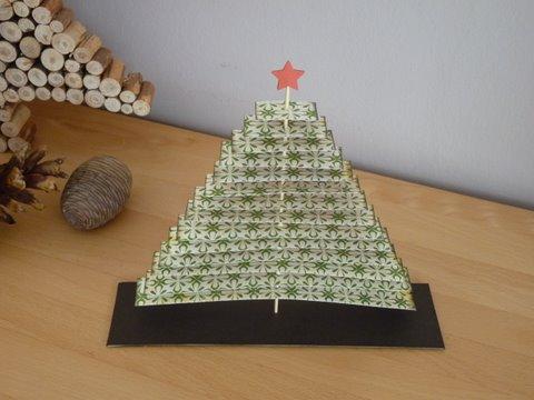 zauberwelt diy tannenbaum aus papier. Black Bedroom Furniture Sets. Home Design Ideas