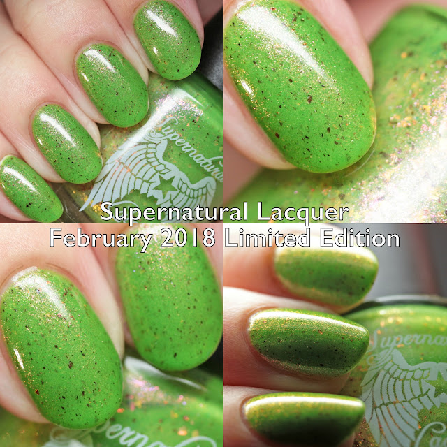 Supernatural Lacquer February 2018 Limited Edition