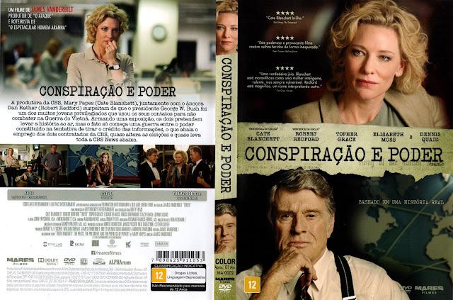 Capa DVD Conspiração E Poder