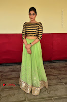 Actress Regina Candra Latest Pos in Green Long Skirt at Nakshatram Movie Teaser Launch  0088.JPG