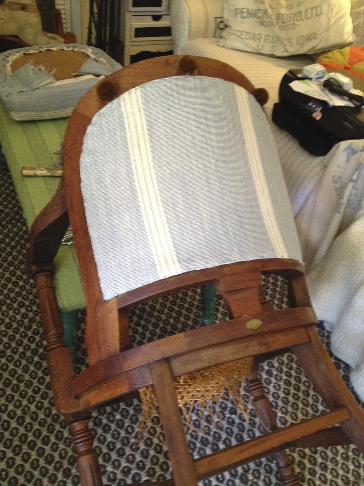 How To Recane A Chair Western Rocking Sheshe The Home Magician Fix With