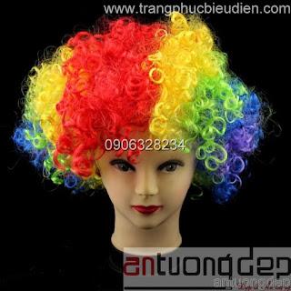 bán tóc chú hề