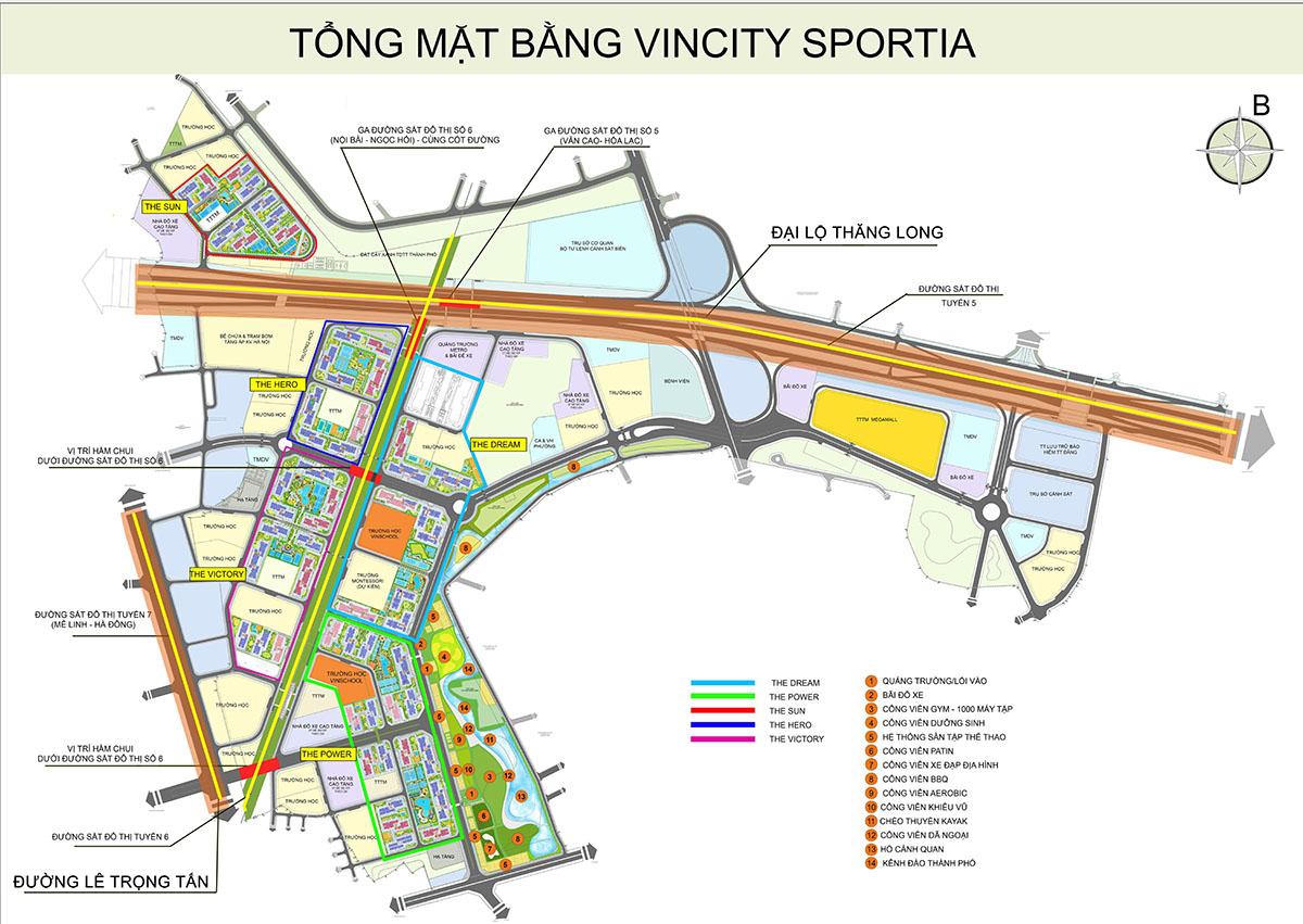 Quy hoạch VinCity Tây Mỗ