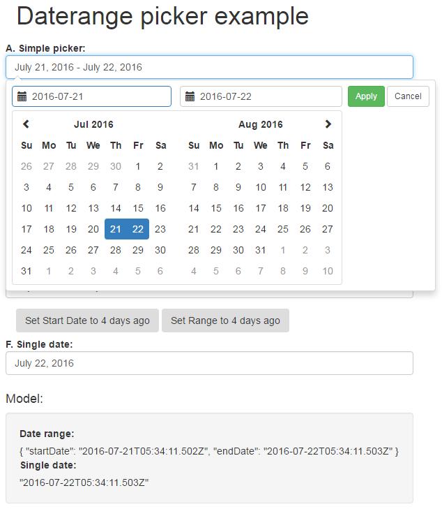 Coder 007: Angular Date Picker