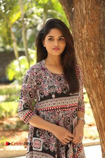 Actress Sunaina Latest Stills in Floral Dress at Pelliki Mundu Prema Katha Trailer Launch  0002.JPG