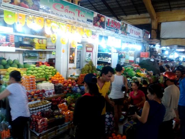 Mercado de Ben Tanh en Ho Chi Minh